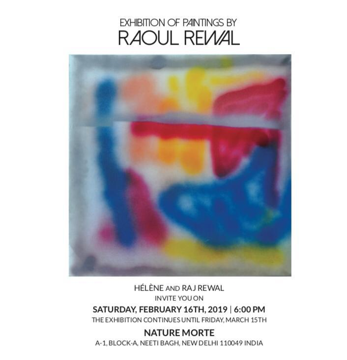 Expositions Raoul Rewal